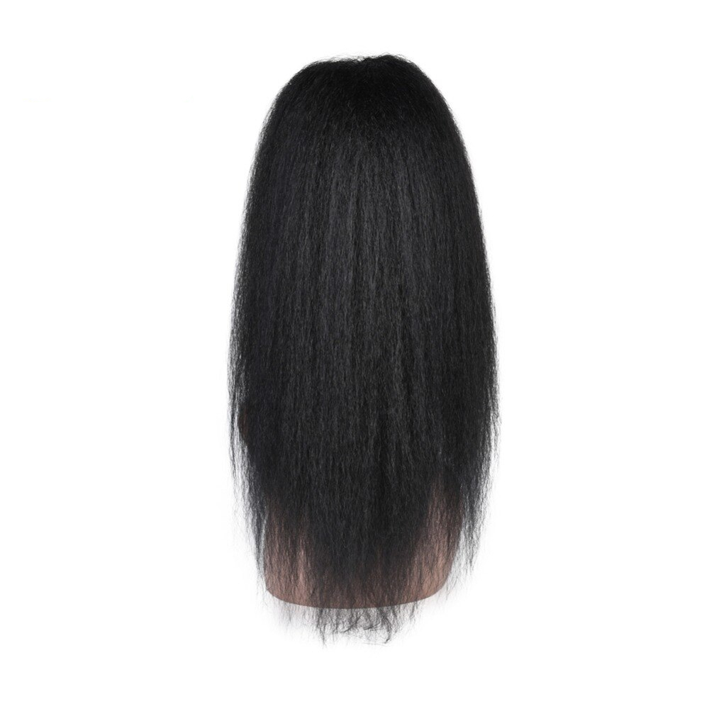 Long Kinky Straight Ponytail Synthetic Hair Extension