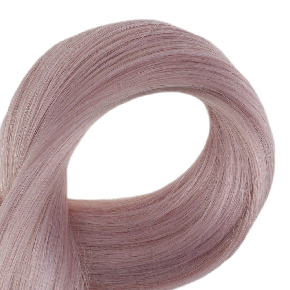 Lilac Straight Tape-In Remy Human Hair Extensions Set