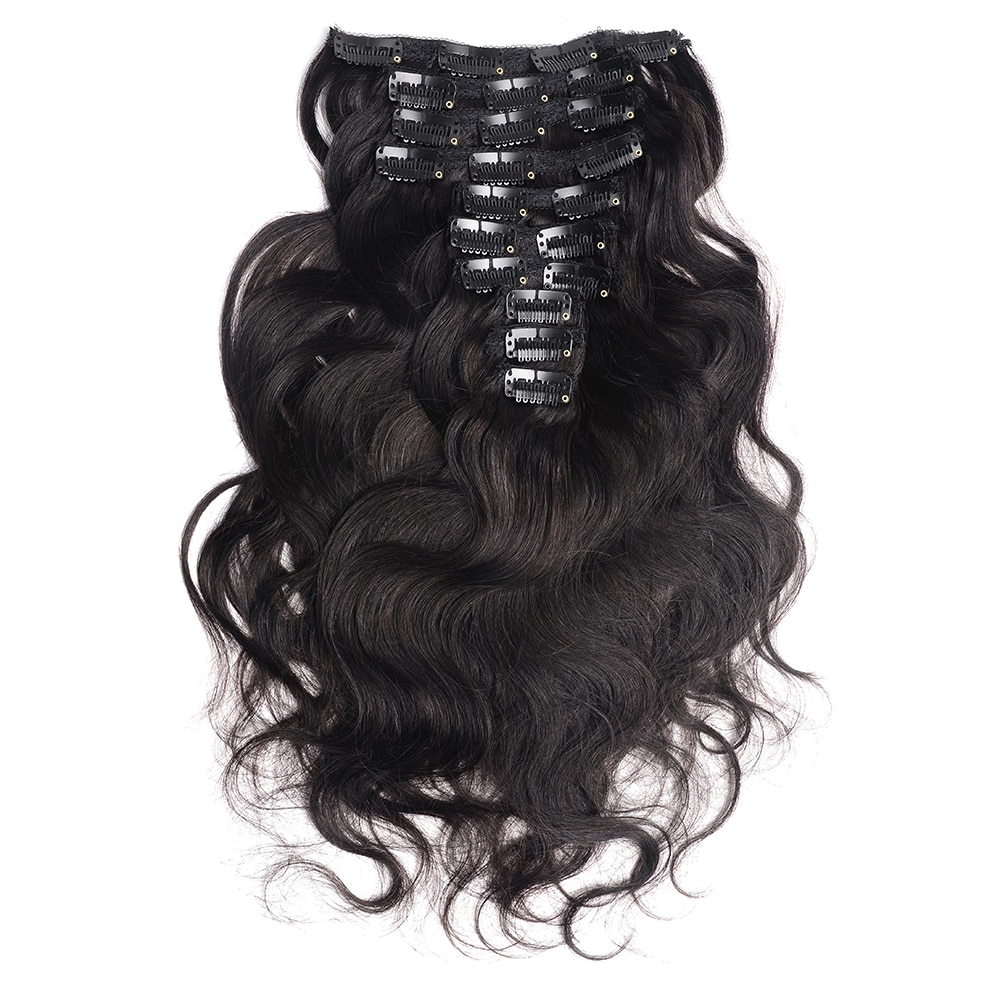 Women's Brazilian Wave Hair Extensions Set 7 Pcs